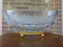 coupe centerpiece in crystal