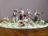 a porcelain Volkstedt group