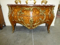 a Napoleon III commode