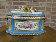 Louis 16 porcelain Box